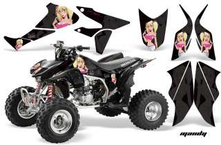 AMR RACING ATV GRAPHICS KIT HONDA TRX450 450R 450 PARTS