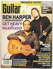 GUITAR PLAYER MAGAZINE BEN HARPER JASON MOZERSKY JOHN MCLAUGHLIN ROY