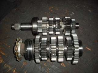 YAMAHA YZFR1 R1 TRANSMISSION GEAR SET **