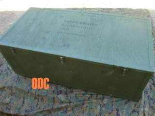 USMC Marine Corps Military Surplus UTILITY STORAGE CHEST Footlocker