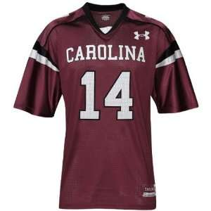 Under Armour South Carolina Gamecocks Ladies #14 Garnet Football